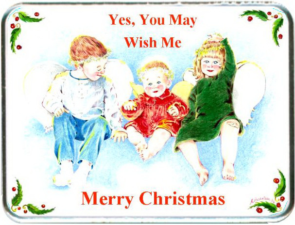Yes, You May Wish Me Merry Christmas